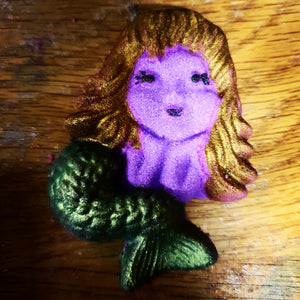 Parma Violet Mermaid Bath Bomb