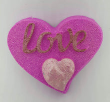 Load image into Gallery viewer, Love Heart Bath Bomb