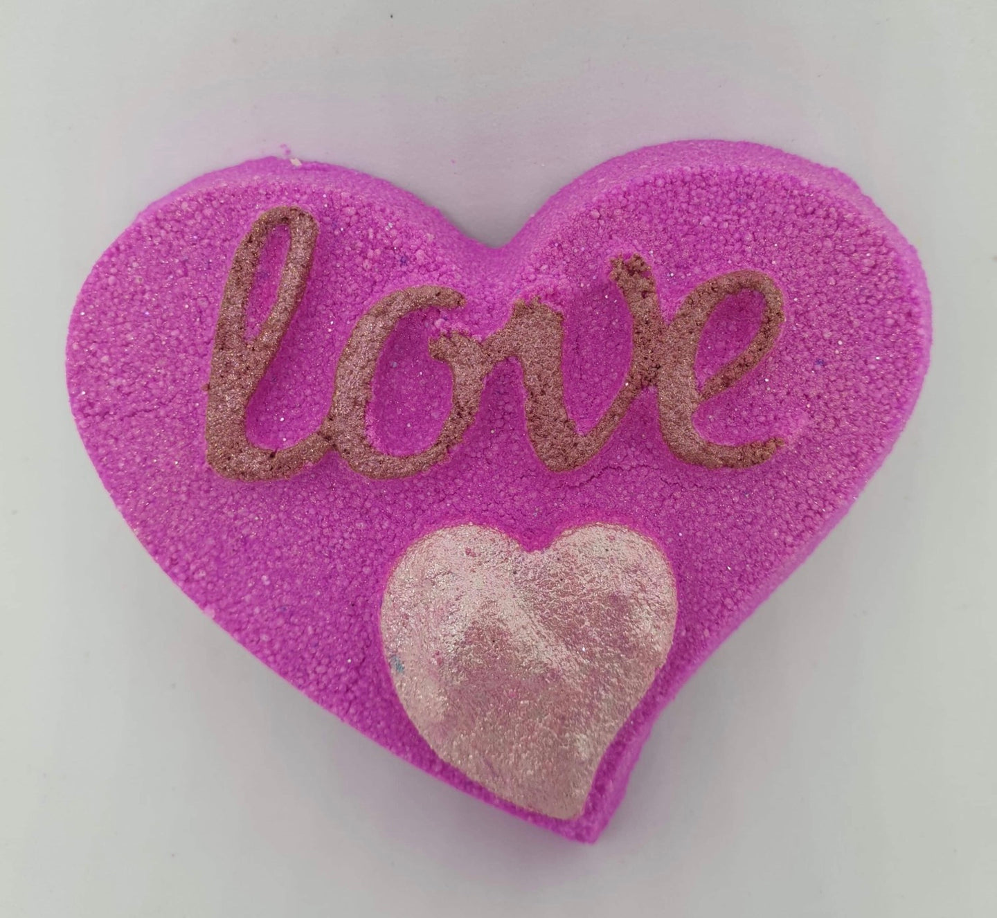 Love Heart Bath Bomb