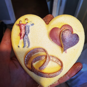 Love and marriage bath bomb