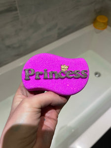 Princess bath bomb