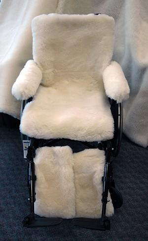 Sheep Wool Wheelchair Covers - Soul Comfort