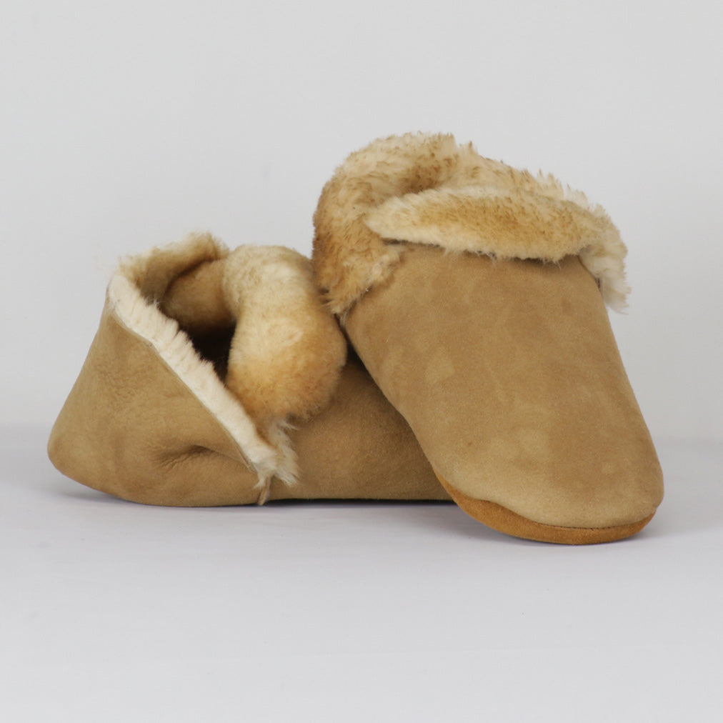 Sheepskin Pancake Slippers