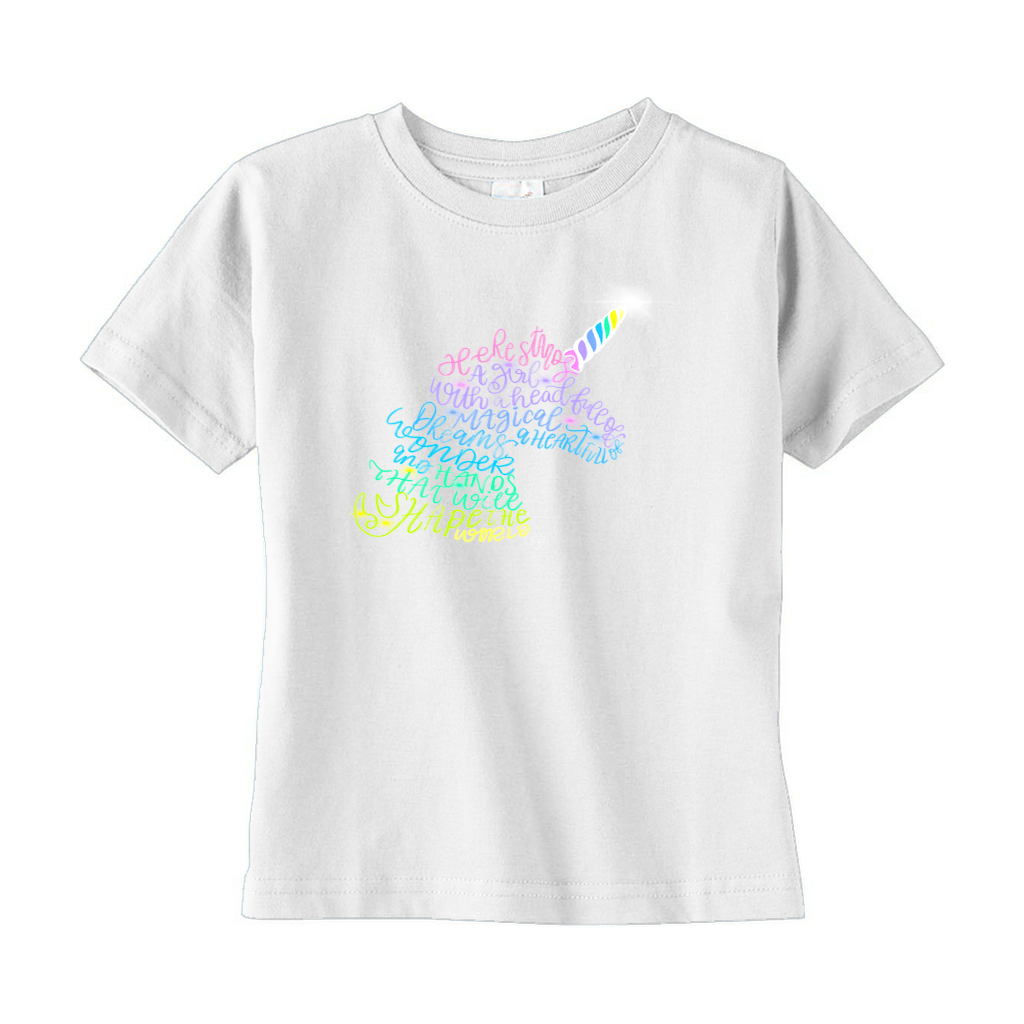 Unicorn T-Shirts (Toddler Sizes)
