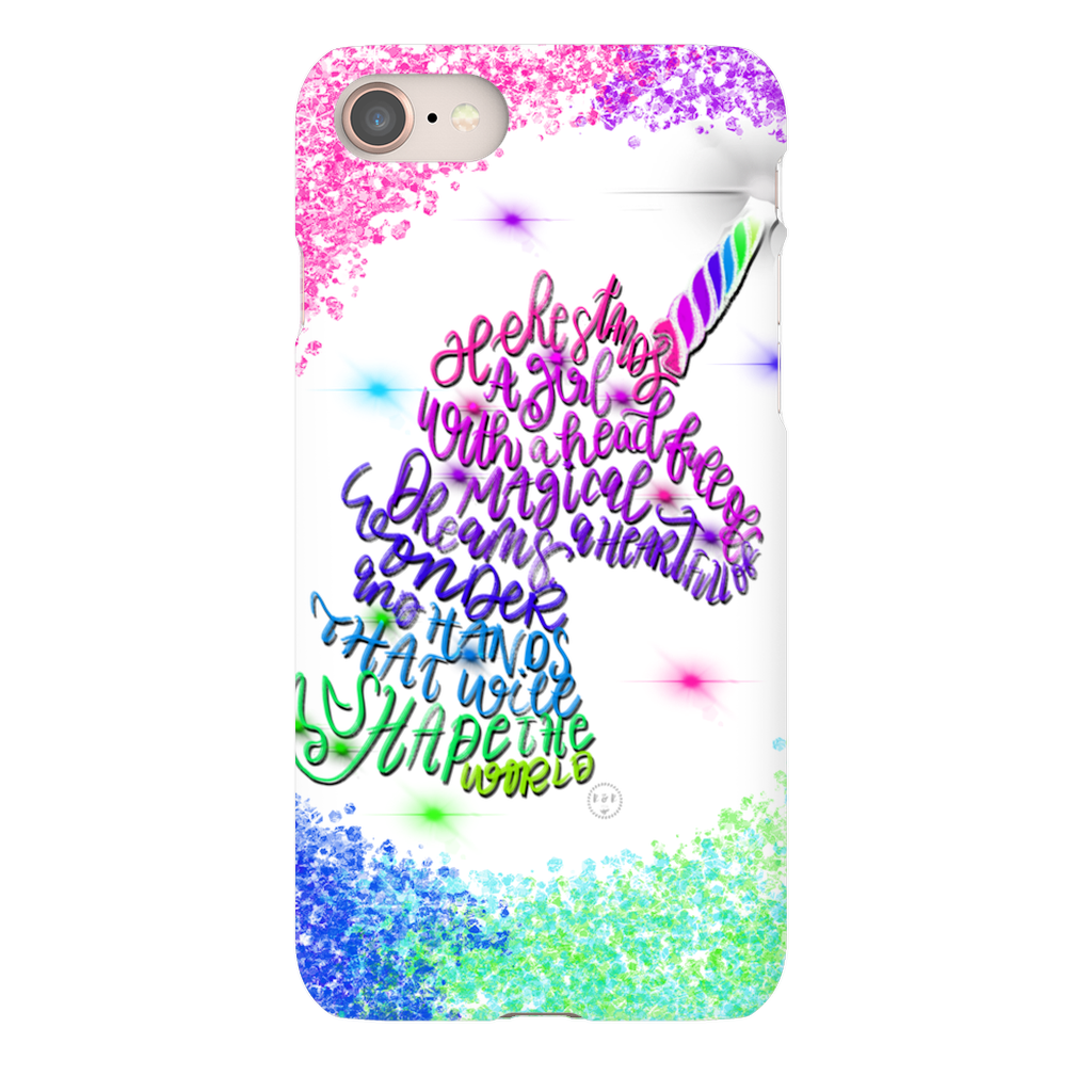 Unicorn sparkle Phone Cases