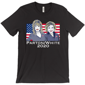 Plus Size Parton/White T-Shirts