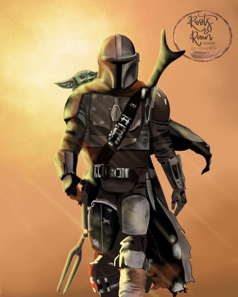 The Mandalorian (Without watermark)