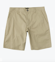 Boy's Weekday Stretch Khaki Short RVCA