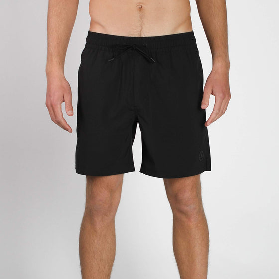 Seeker Volley Short True Black Imperial Motion