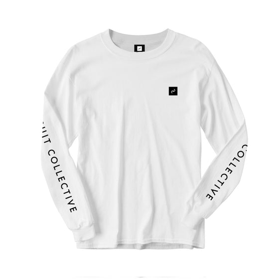 The Pursuit Collective Long Sleeve Logo Tee