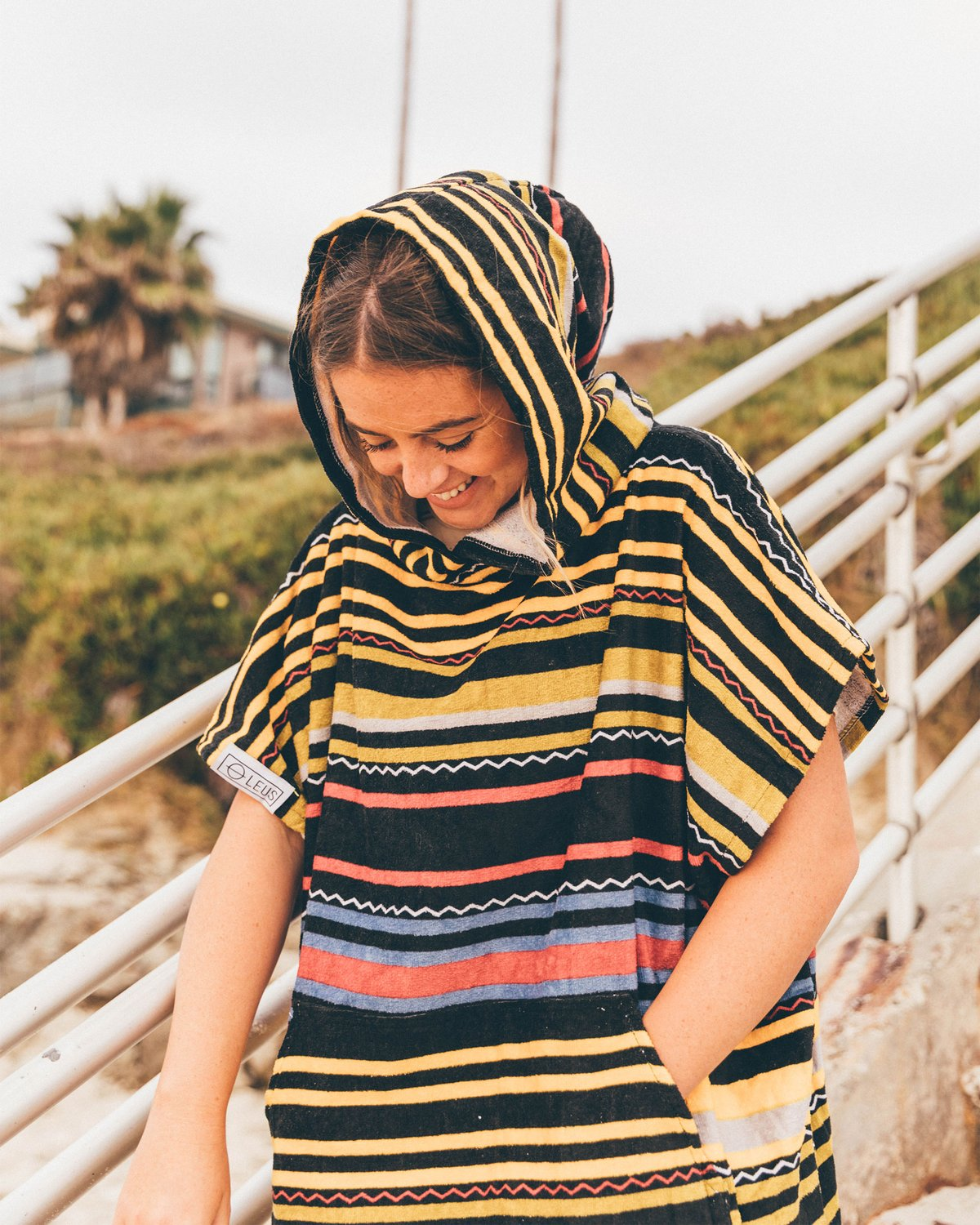 Leus Renegade Changing Eco Poncho