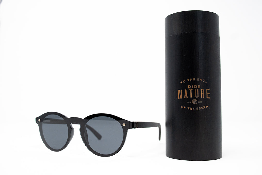 "Ride Nature ""Rincon"" Black Sunglasses"