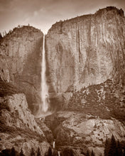 Load image into Gallery viewer, Yosemite Falls, Yosemite National Park,  California Photography, California Landscape, Fine Art Photograph