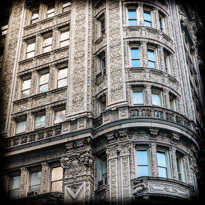 New York City, Ornate Architecture, Alwyn Court, Manhattan Photography, City Wall Art, New York National Register Of Historic Places