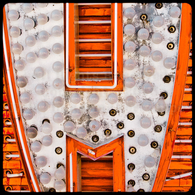 The Neon Museum - Neon Boneyard Detail no.17