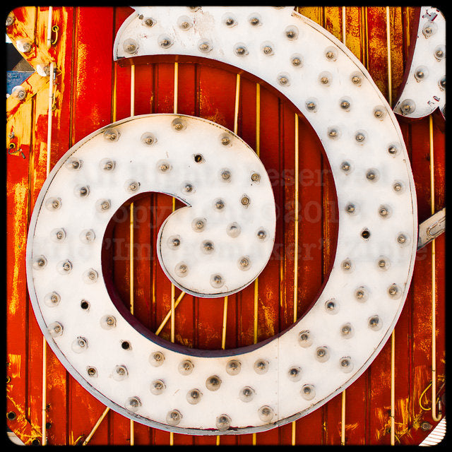 The Neon Museum - Neon Boneyard Detail no.16