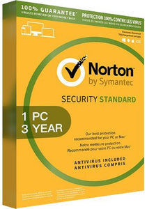 Norton Security Standard 3 - 1 Device - 3 Years