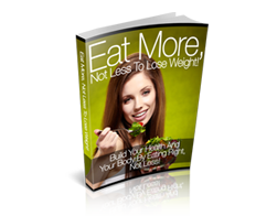 eBook – Eat More, Not Less to Lose Weight!