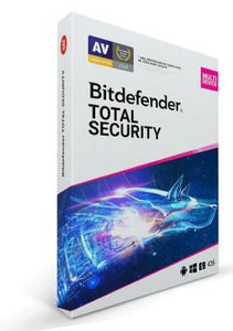Bitdefender Total Security Multi Device - 5 Devices - 6 Months