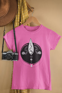 Ancient Alien Ladies Summer Crew Neck Tee