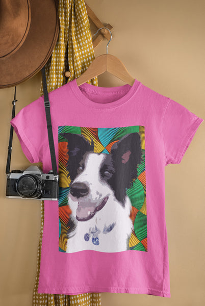 Pop Art Pets - Ladies Summer Crew Tee