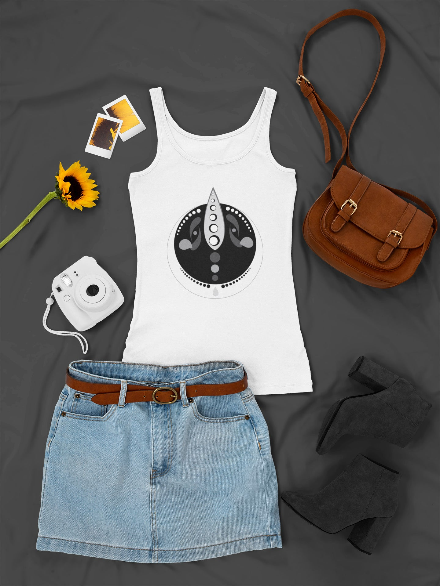 Ancient Alien Ladies Sleeveless Summer Vest