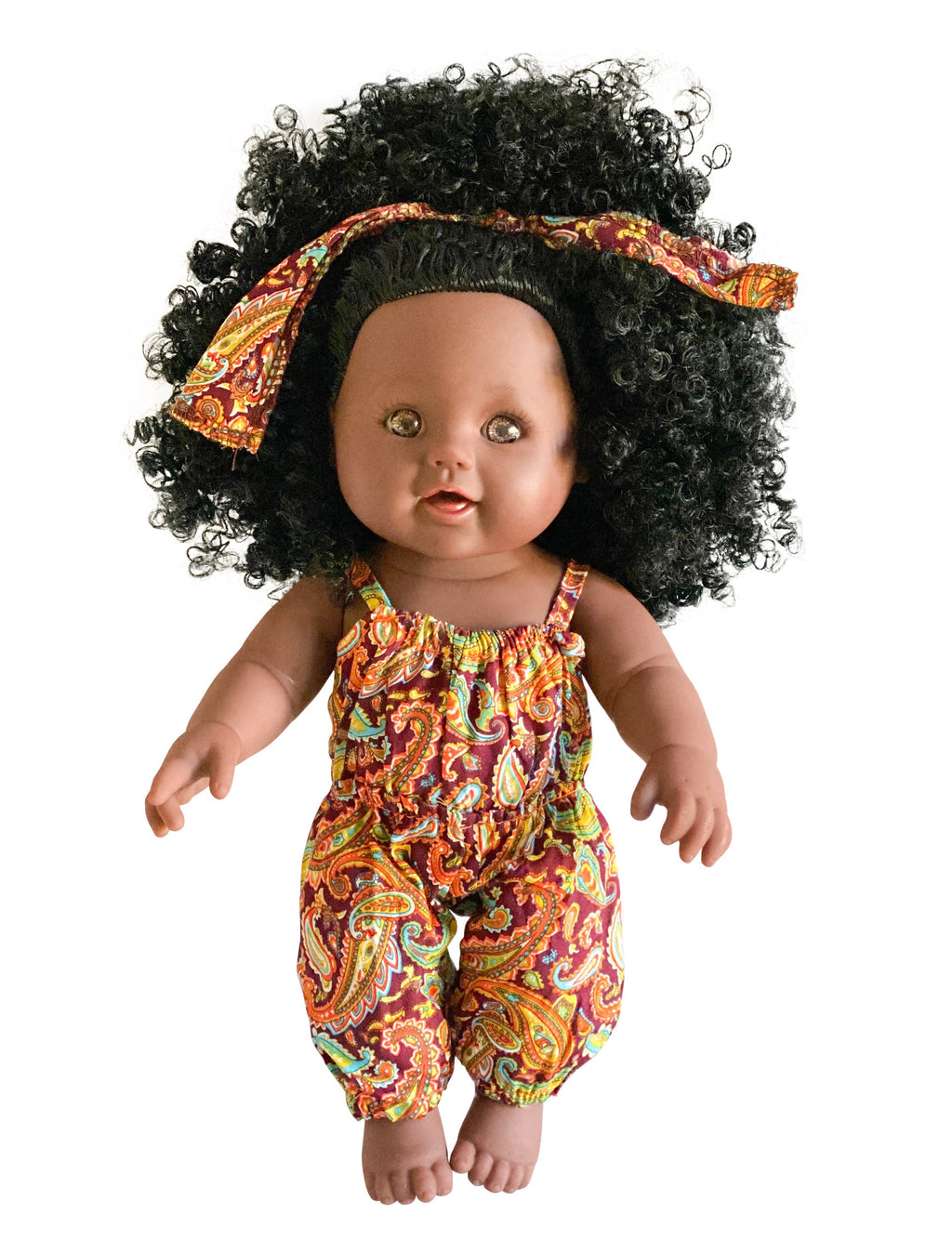 Chika African Print Nathaniel Doll