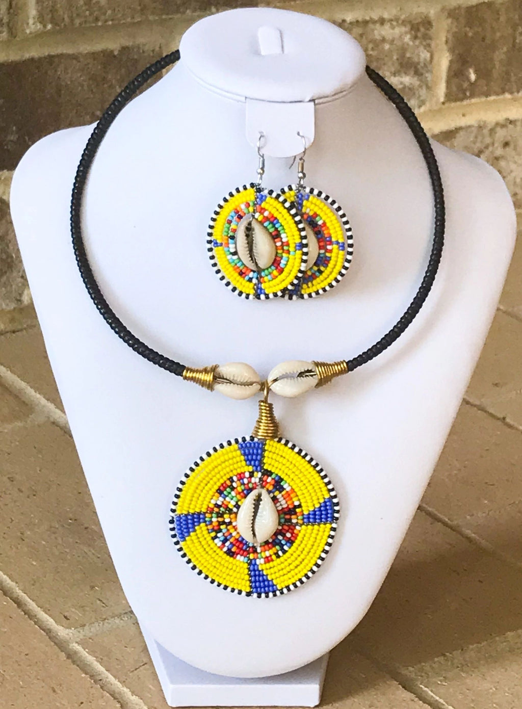 Ceremonial Maasai Choker Set