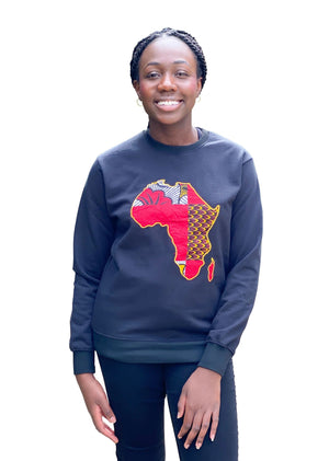 African Map Sweatshirt