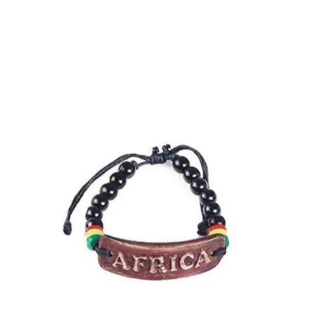 Africa Beaded Clay Bracelets
