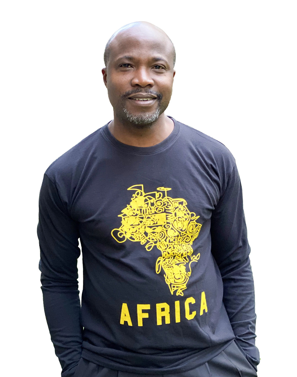 African Map Long Sleeve T-Shirt