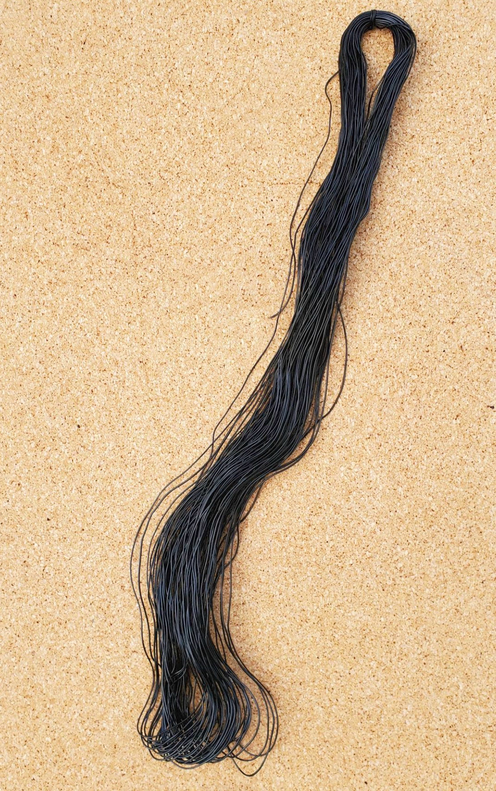 African Rubber Hair Thread