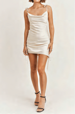 Tina Silk Mini Dress