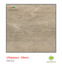 Load image into Gallery viewer, A picture of porcelain paving from the Vitripiazza collection. Pictured is the Albero tile colour option Deriva.