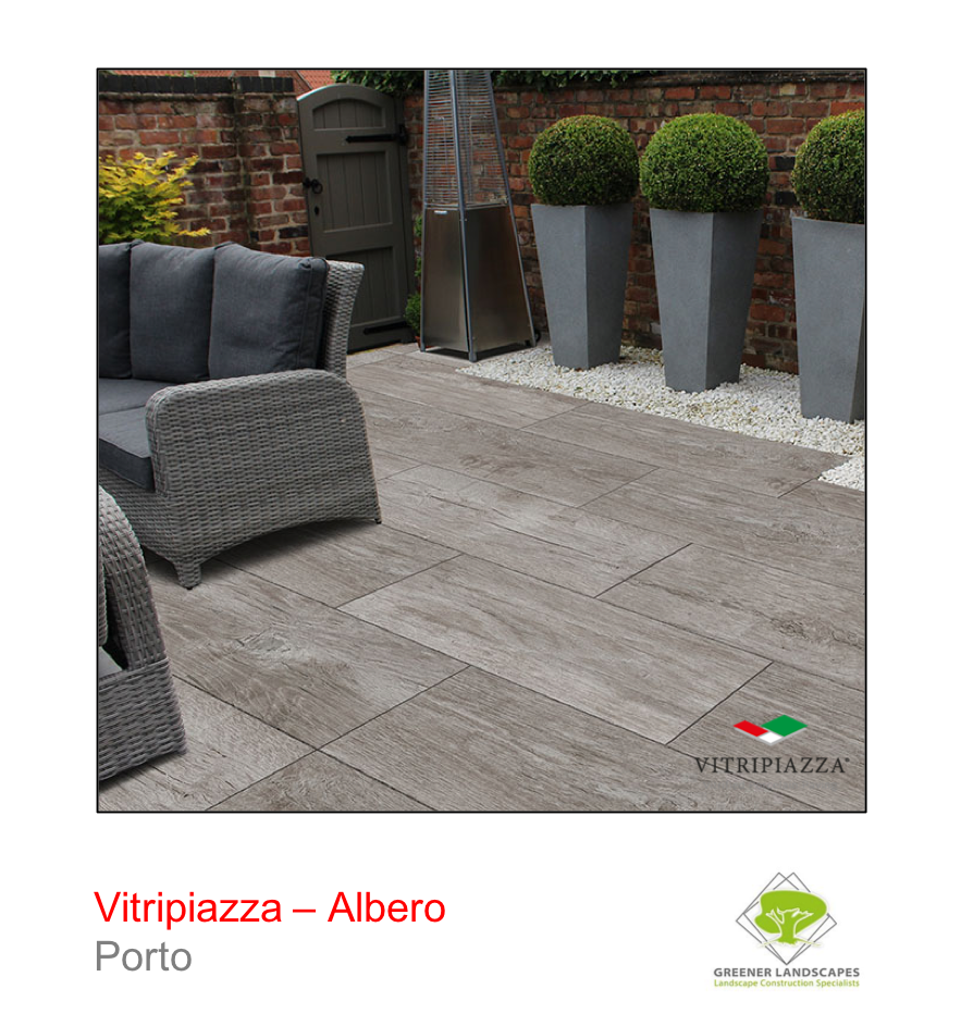 A picture of the Albero tile from the Vitripiazza Porcelain Paving Collection pictured in Porto