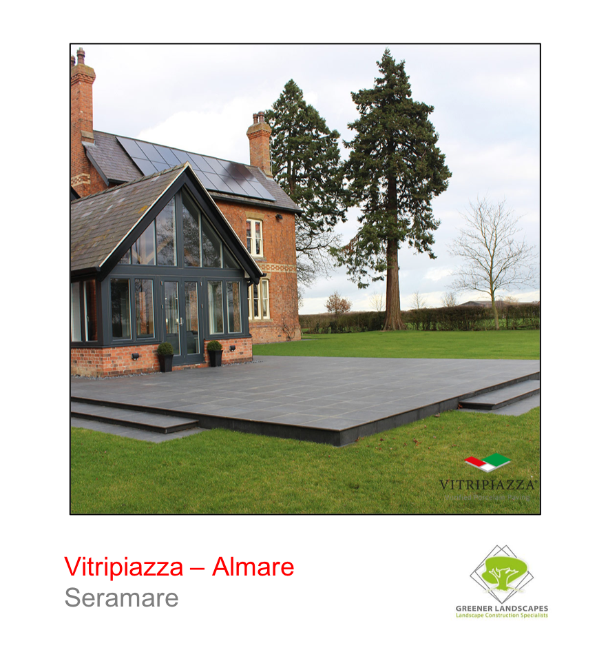 Vitripiazza by Talasey Almare porcelain paving in Seramare.
