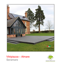 Load image into Gallery viewer, Vitripiazza by Talasey Almare porcelain paving in Seramare.