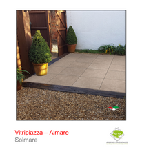 Load image into Gallery viewer, Vitripiazza by Talasey Almare porcelain paving in Solmare.
