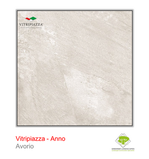 Open image in slideshow, Vitripiazza porcelain paving by Talasey Group in Avorio.