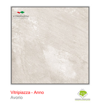Load image into Gallery viewer, Vitripiazza porcelain paving by Talasey Group in Avorio.