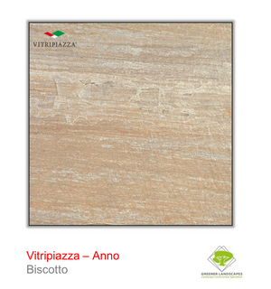 Open image in slideshow, Vitripiazza porcelain paving by Talasey Group in Biscotto.