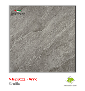 Open image in slideshow, Vitripiazza porcelain paving by Talasey Group in Grafite