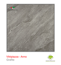 Load image into Gallery viewer, Vitripiazza porcelain paving by Talasey Group in Grafite