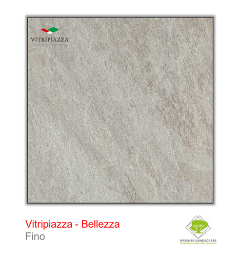 Vitripiazza Bellezza porcelain paving by Talasey in Fino