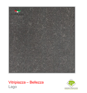 Vitripiazza Bellezza porcelain paving by Talasey in Lago.