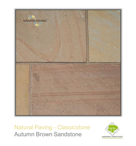 Classicstone Sandstone - Autumn Brown