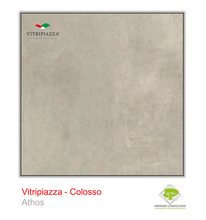 Load image into Gallery viewer, A picture of porcelain paving from the Vitripiazza collection. Pictured is the Colosso tile colour option Athos.