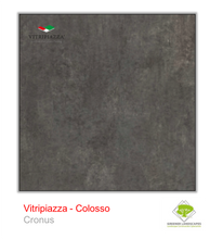 Load image into Gallery viewer, A picture of porcelain paving from the Vitripiazza collection. Pictured is the Colosso tile colour option Cronus.