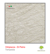 Load image into Gallery viewer, A picture of porcelain paving from the Vitripiazza collection. Pictured is the Di Pietra tile colour option Tempesta.