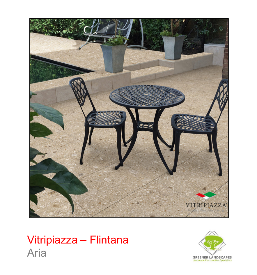 Vitirpiazza Flintana porcelain paving in Aria